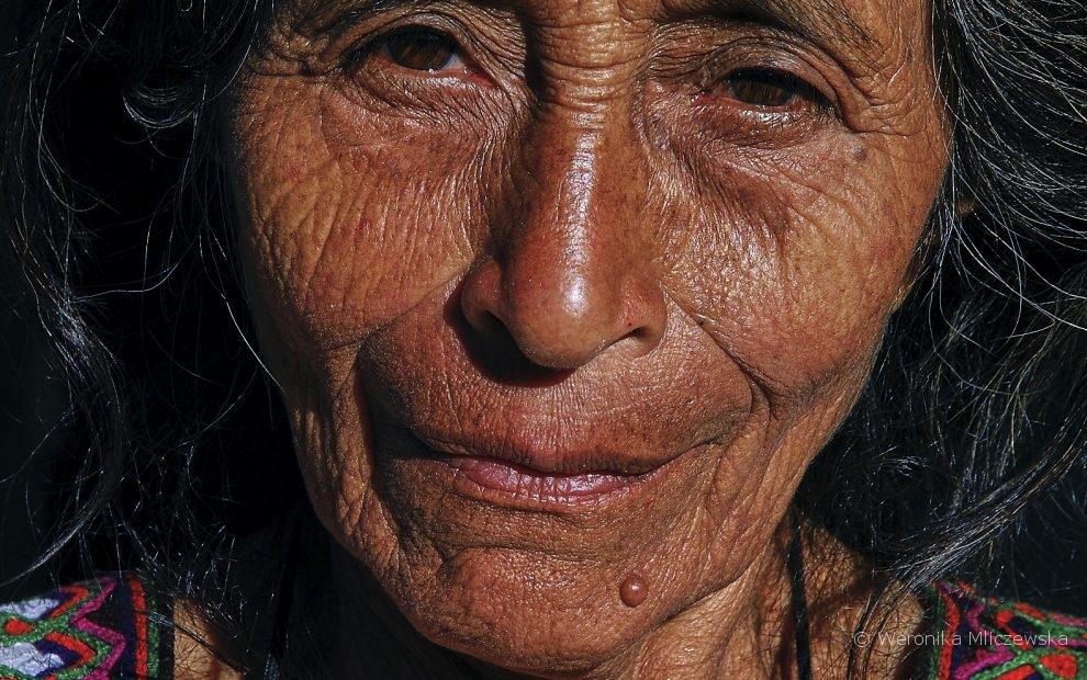 portrait of a Maya woman, Guatemala, Weronika Mliczewska