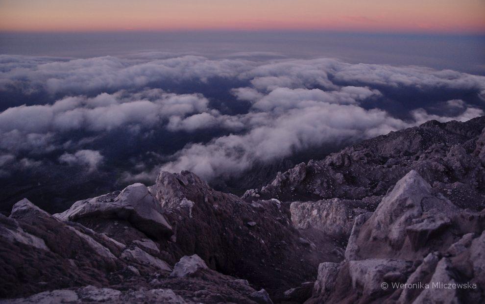 Santaguito o świcie, Gwatemala; photo by weronika Mliczewska (Veroetnika)