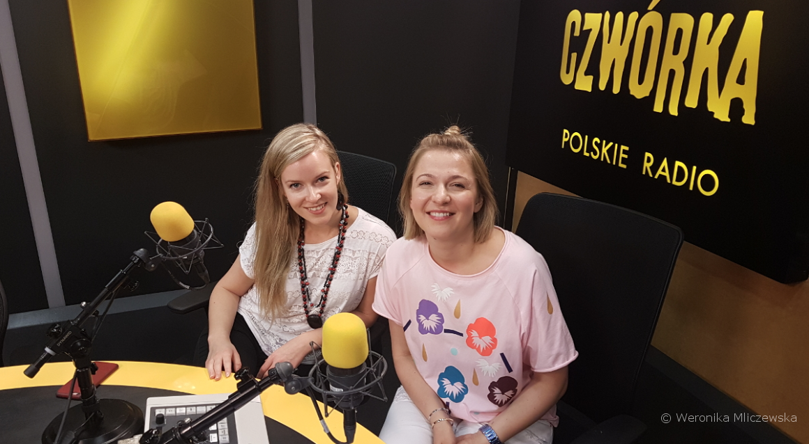 wywiad w czwórce polskiego radia Katarzyny Dydo z Weronika Mliczewska o filmie dokumentalnym Long Way / Długa Droga.