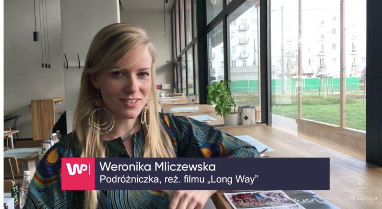 weronika mliczewska, long way, film dokumentalny, anna jarzębska, wp.pl